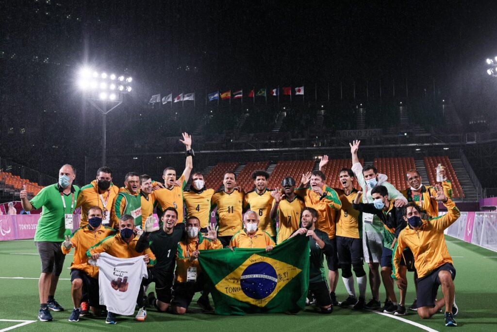 Nonato clinches Brazil's fifth Paralympic title