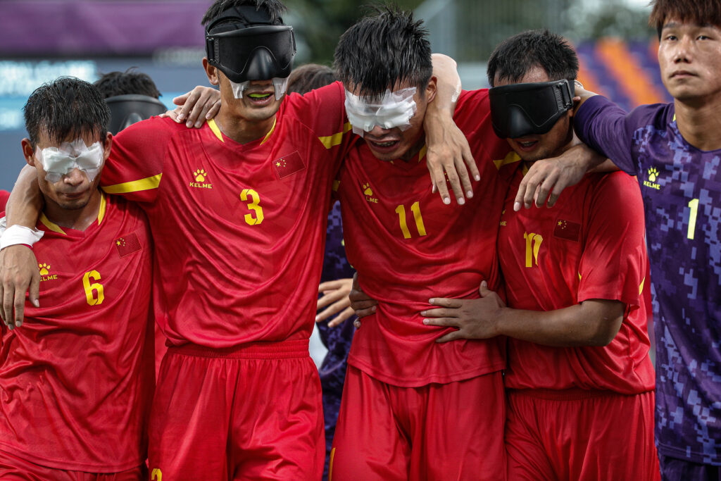 #Tokyo2020: Five things we learned about blind football